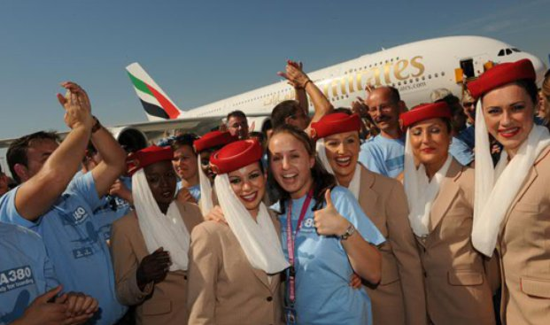 1. The world getting on well together, Emirates
